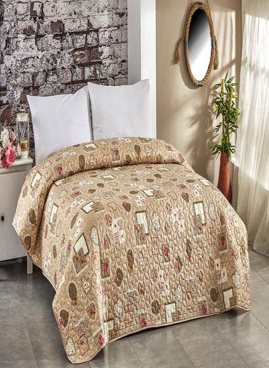 Komfort Home Tek Kişilik Çok Amaçlı Örtü - Pike 160x220 CM / V11 Renkli